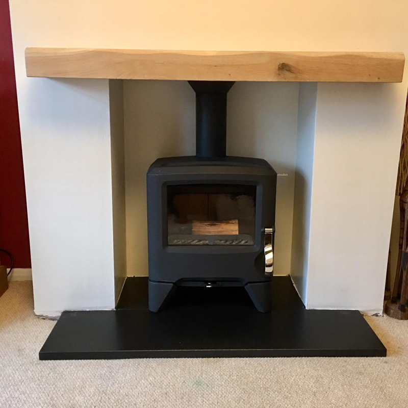 woodburner fitting in cheshire