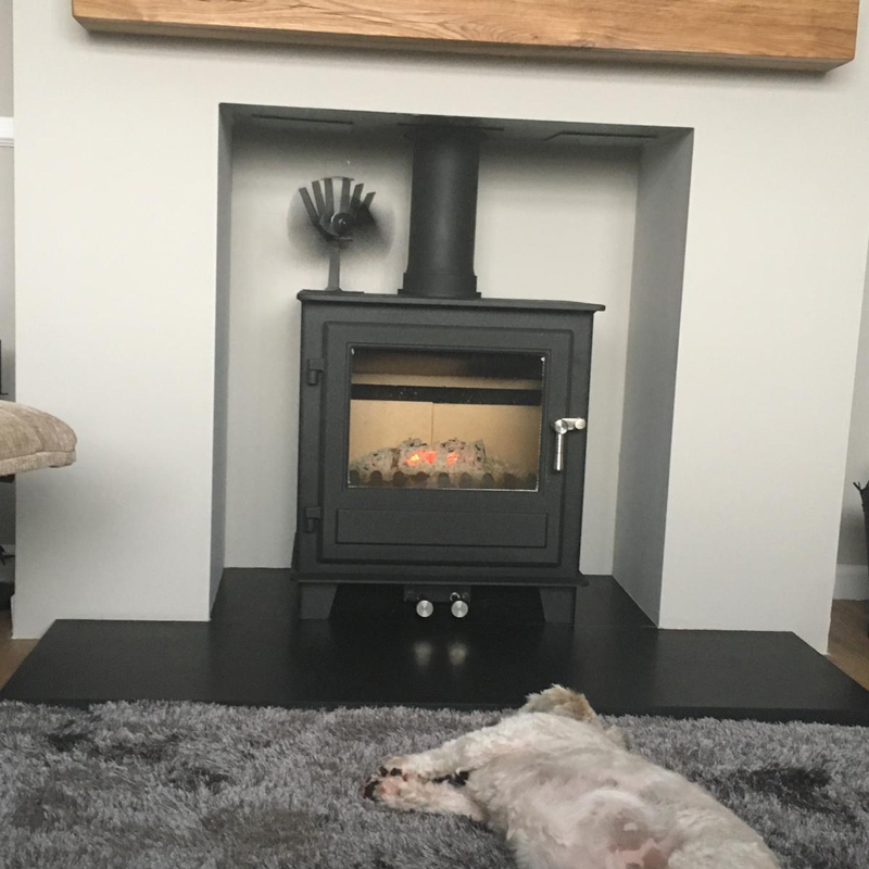 wood burning stove installer
